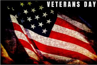 happy veterans day american flag