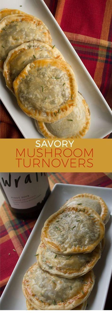 Savory Mushroom Turnover