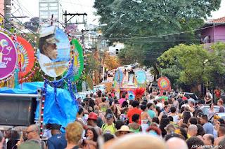 Bloco Cacique Jaraguá Foto: João Baptista Lago