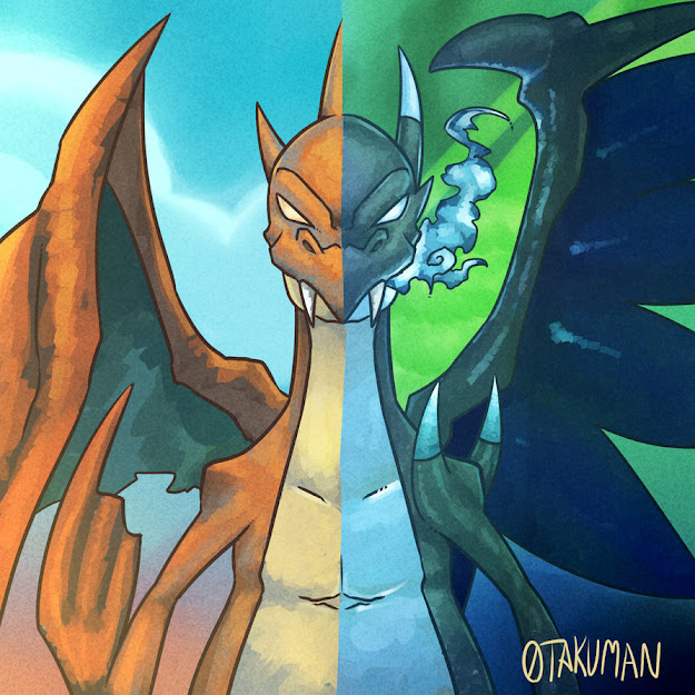 Because Charizard By Takuman
