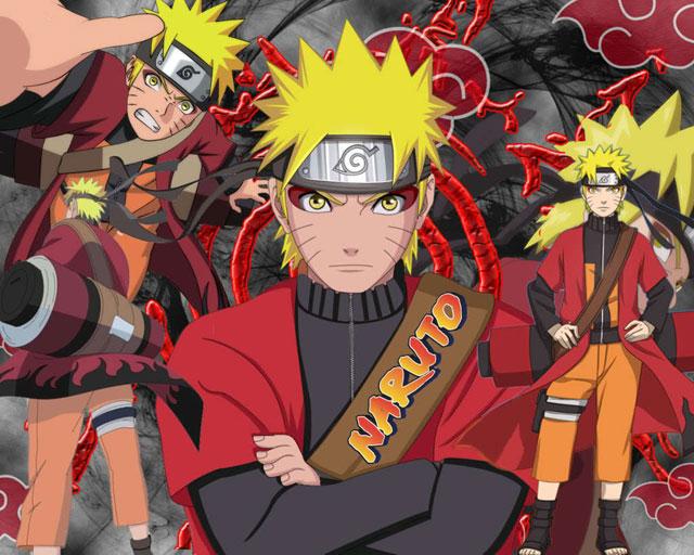 Naruto Shippuuden - Sage Mode - Comics Wallpaper