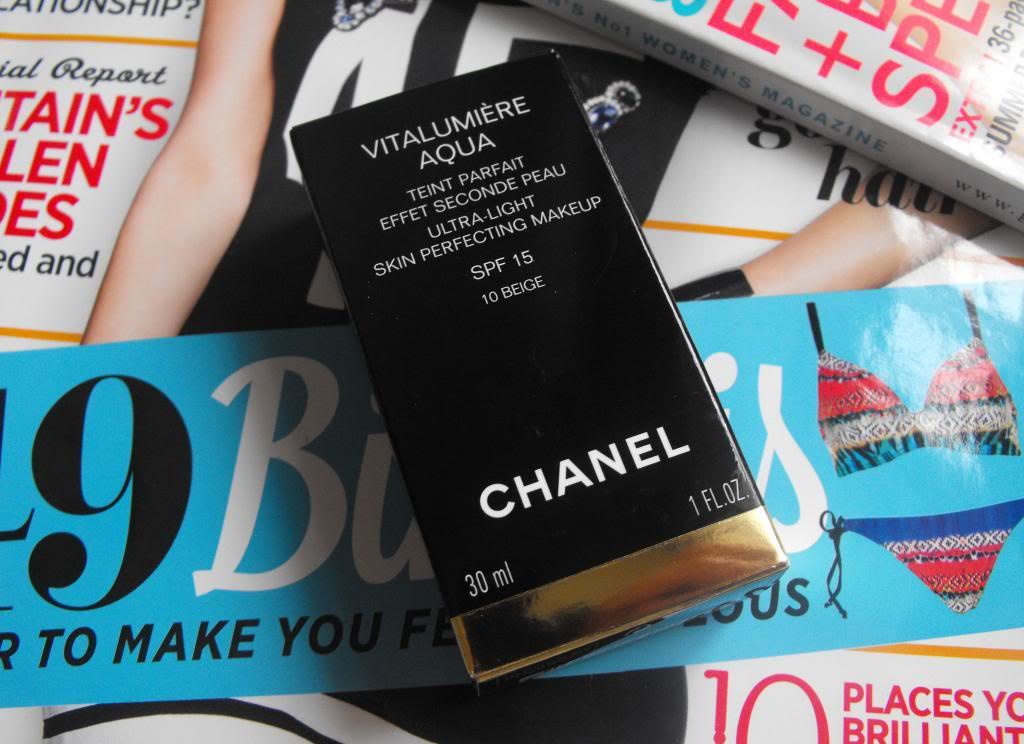 Chanel Vitalumière Aqua Foundation