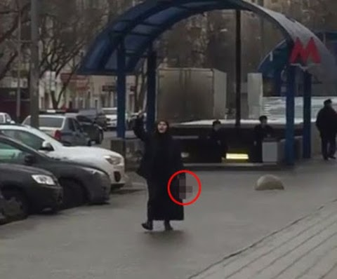 Horror in Moscow as burka-clad babysitter 'decapitates girl in her care' - then walks through streets carrying her severed head and shouting Allahu Akbar'
