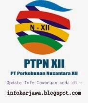 Lowongan Kerja BUMN PTPN XII (PT Perkebunan Nusantara)