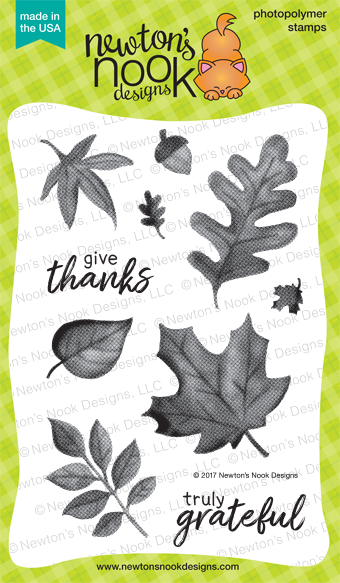 Shades of Autumn Stamp Set by Newton's Nook Designs