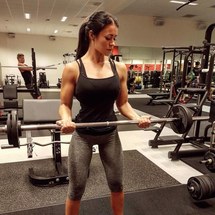 Clara Felicia Lindblom Fitness Model Instagram 7