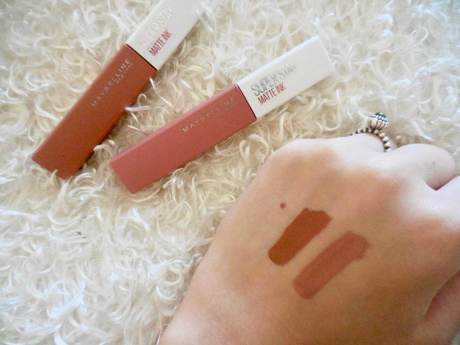Megans World Maybelline Super Stay Matte Ink First Impressions