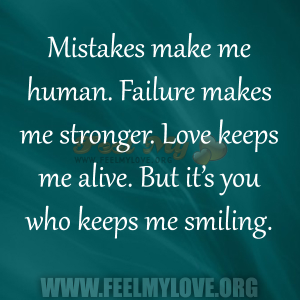 Inspirational Quotes About Failure: Quotes About Mistakes In Love. QuotesGram