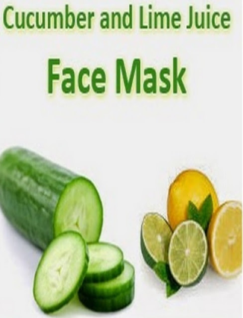 Cucumber and Lime Juice Face Mask