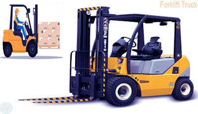 Forklift truck, forklift, উত্তোলক ট্রাক