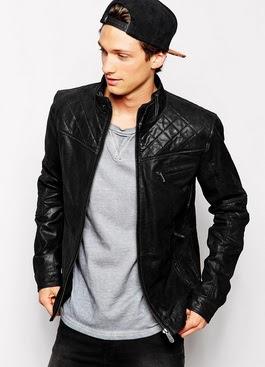 Gambar jaket semi kulit vienna
