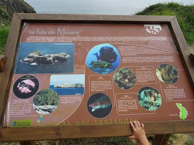 Cartel Informativo Isla de Mouro