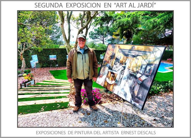 ART AL JARDÍ-PINTURA-MANRESA-EXPOSICIONS-EXPOSICIÓ-PINEDA DE BAGES-ARTISTA-PINTOR-ERNEST DESCALS-