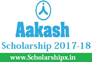 Aakash Institute Scholarship 2017-18