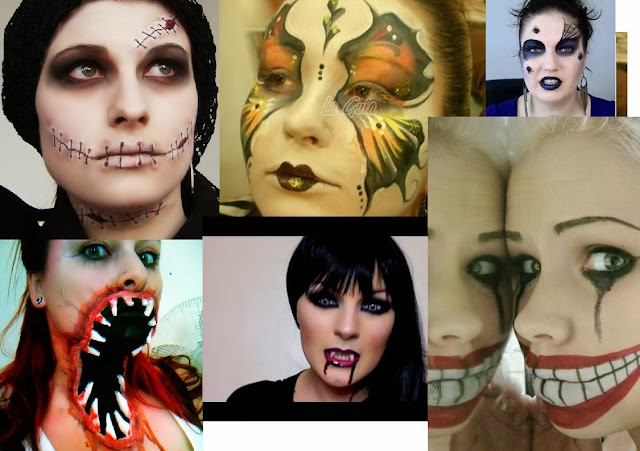 MAQUILLAJE HALLOWEEN PARA CHICAS