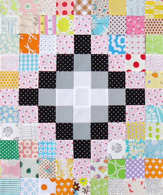 Irish Chain Scrap Buster Quilts - work in progress | Red Pepper Quilts