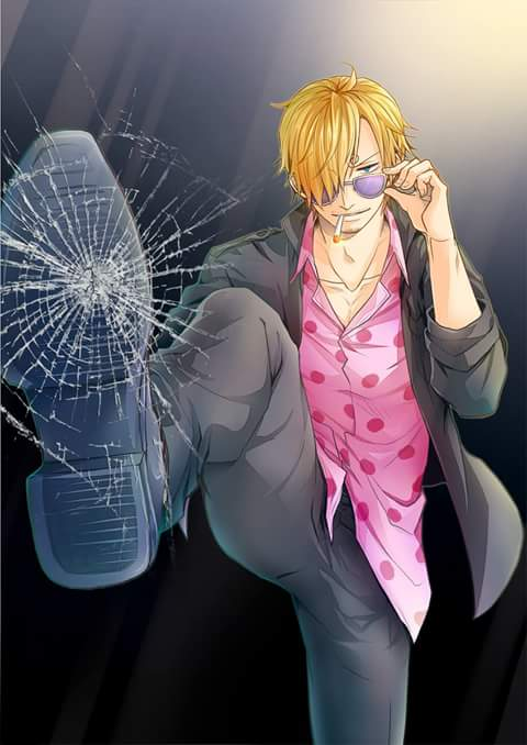 Wallpaper Android Anime One Piece sanji