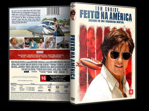 Capa DVD Feito na América [Exclusiva]