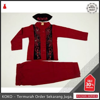KKO26 XNL583 Baju Koko Anak Malvin Elegan BMGShop