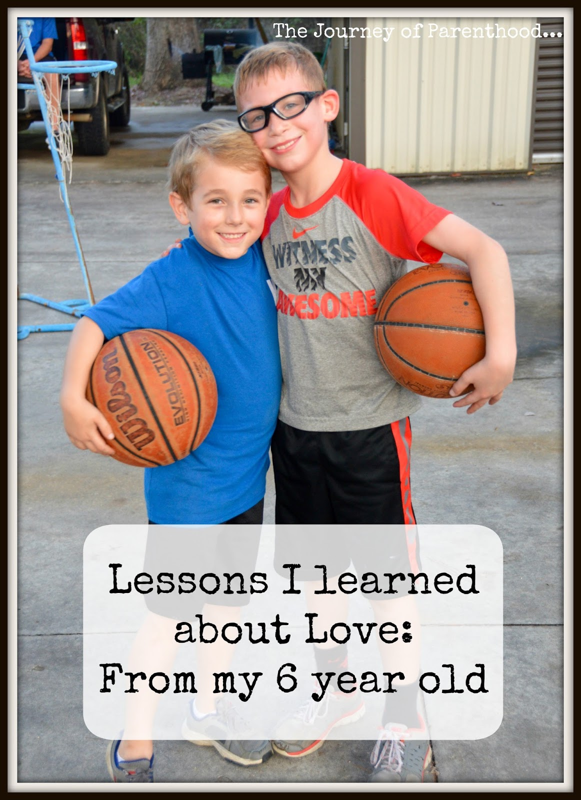 Lessons I learned about Love: From my 6 year old