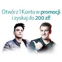 Mobilne 1 Konto w Credit Agricole z premią 200 zł
