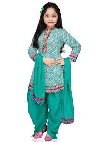 Model Baju Lebaran India Anak Prempuan Desain Moderen