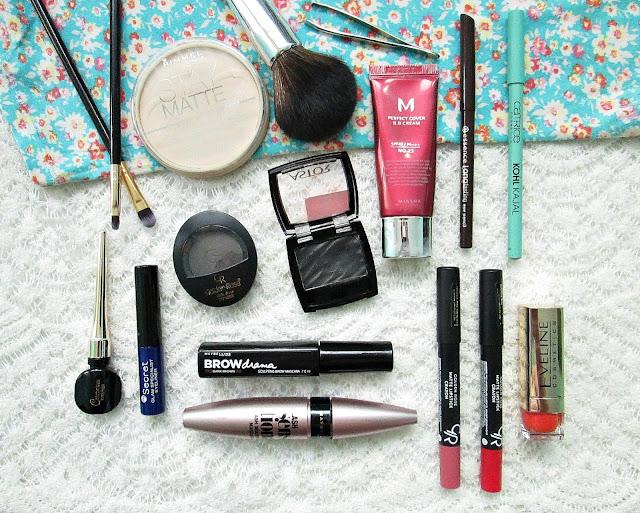 makijaż na festiwalu