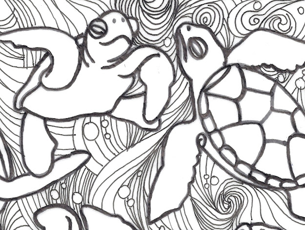 Turtle Coloring Pages New Calendar Baby Turtle Coloring Page Turtle  Coloring Pages For Turtle Coloring Pages For Kids Free With