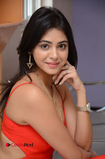 Actress Priyanka  Bharadwaj Pictures at Mister 420 Movie Logo Launch  0085
