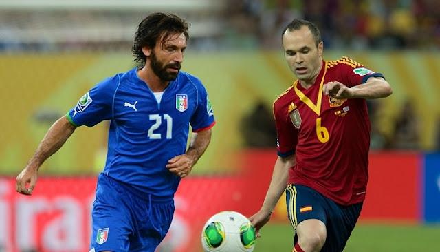 Italia vs España en vivo Amistoso