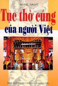 Tục Thờ Cúng Của Người Việt - Bùi Xuân Mỹ