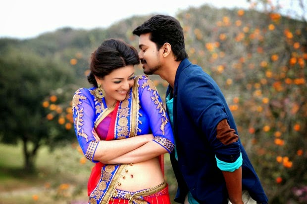 Kajal Aggarwal In Jilla Movie Stills
