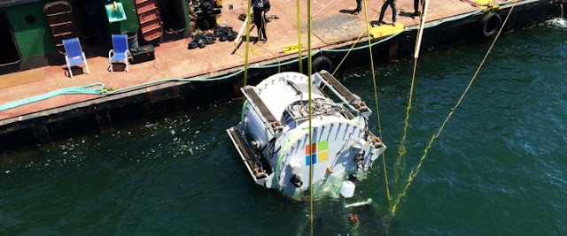 Microsoft underwater data center Shehan's thoughts