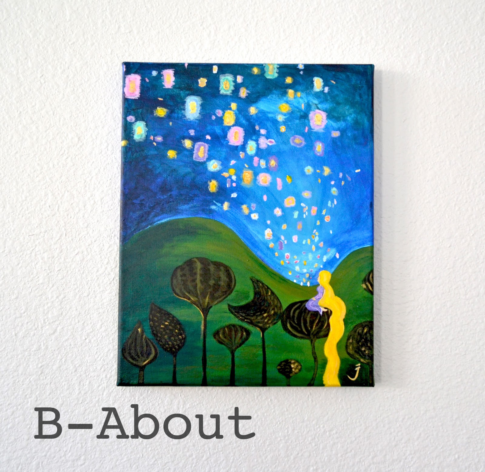 B About Tangled Floating Lights