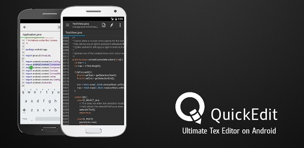 QuickEdit Text Editor Pro – Writer & Code Editor APK For Android