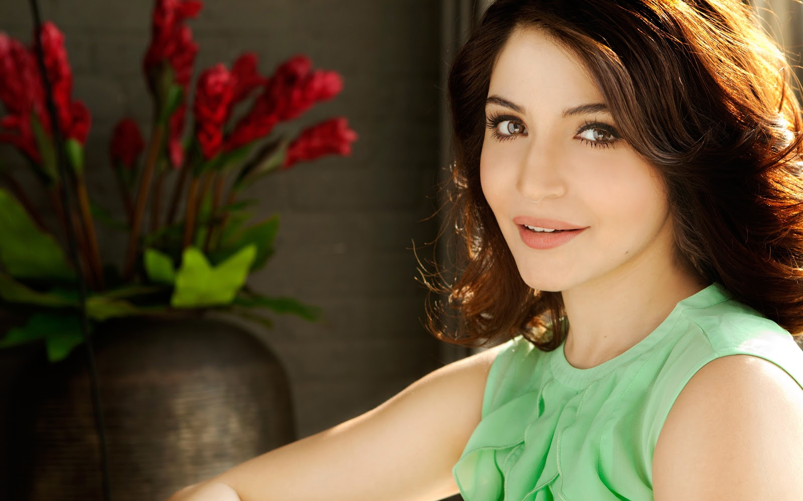 Anushka Sharma Hot  Sexy Bikini Hd Wallpaper  Images -3944
