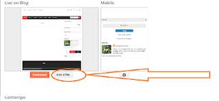 edit blogger for Yandex