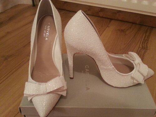 Bridal Shoes Bows