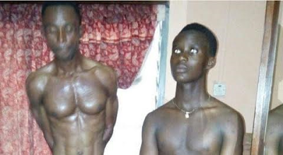 Two suspected homosexuals nabbed at a hotel in Keneshie