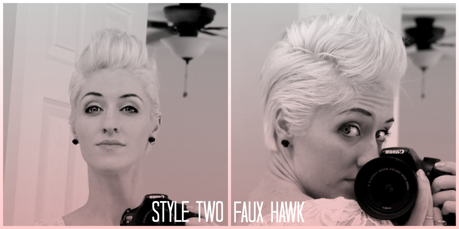 Remarkable The Crafty Woman Style Two Faux Hawk Short Hairstyles For Black Women Fulllsitofus