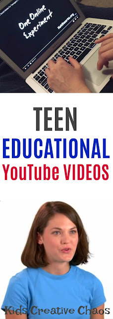 YouTube Homeschool Videos for Teens