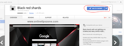 Add Theme to Chrome