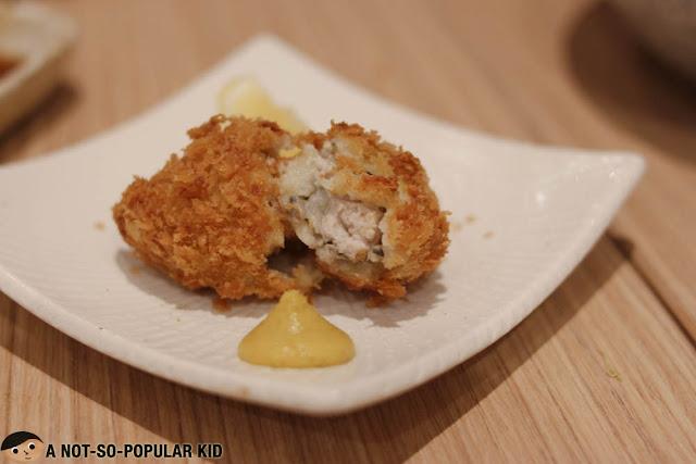 Oyster Katsu of Yabu Restaurant