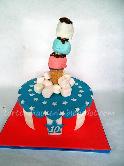 Die Tortenmacherin Stars And Stripes Zum 10 Geburtstag