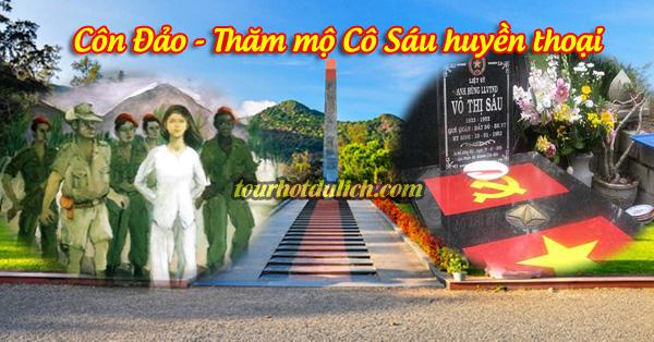 Côn Đảo thăm mộ cô Sáu Võ Thị Sáu huyền thoại