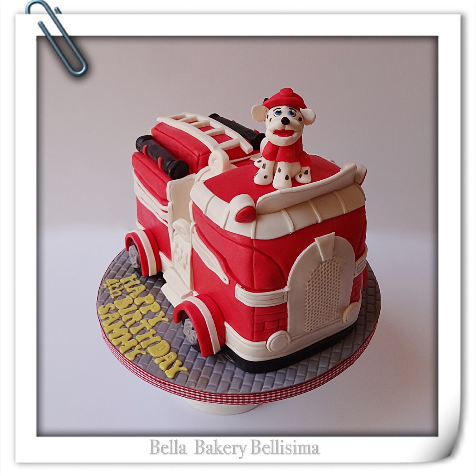 Fire Engine Birthday Cake Asda