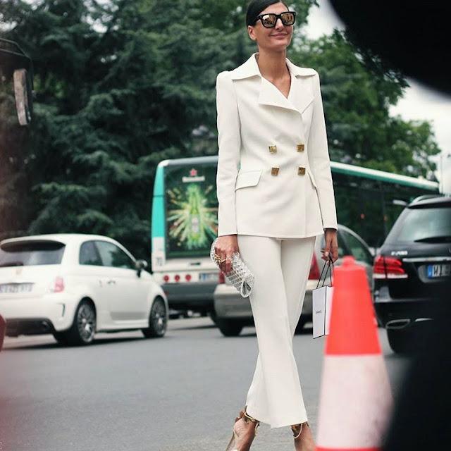 Fashion Week in Paris: Giovanna Battaglia + Chanel