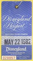 Vintage Disneyland Tickets 29 Years Today