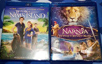 Dollar Tree haul bluray dvd Nim's Island Narnia children movie Bindi Irwin