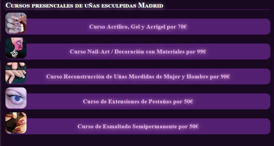 Disfruta De Cursos De Uñas De Gel Baratos En Madrid Gracias